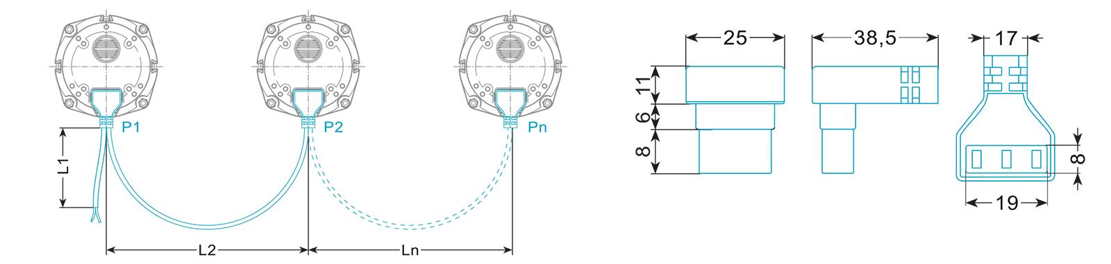 profitect-wiązka do silników wentylatorów-typ wse